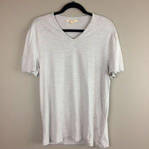 John Varvatos USA light gray v neck t-shirt